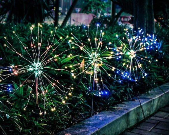luci fuochi d'artificio