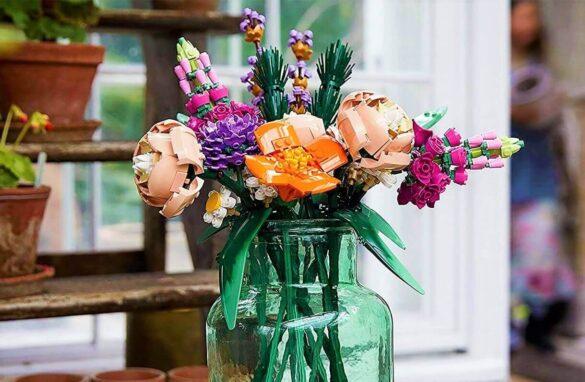 mazzo di fiori lego