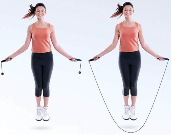 saltare la corda senza corda